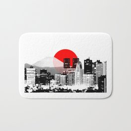 Modern Japan - Tokyo - Shinjuku Bath Mat