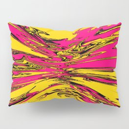 yellow violet squeeze Pillow Sham