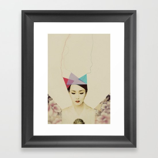 q8 Framed Art Print