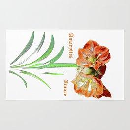 Amaryllis Amore Rug