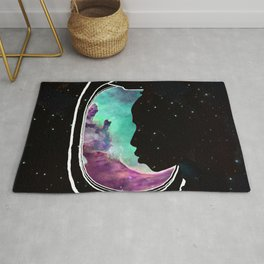 People of the Universe-Multiverse Commuter-Turquoise Rug