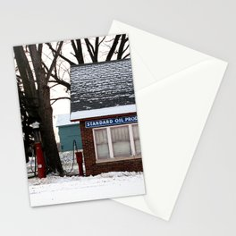 chilled fuel stop Stationery Cards