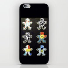 Cookie cutters (post modern) iPhone & iPod Skin