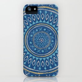 Astral Lullaby in Blue iPhone Case