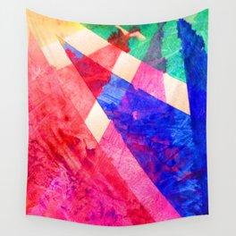 Rainbow Shards Wall Tapestry