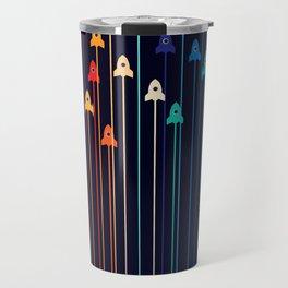 Rocket Race! Travel Mug