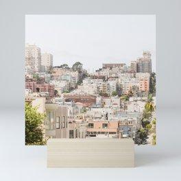 Top of a San Francisco Hill - San Francisco Photography Mini Art Print
