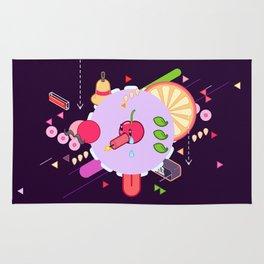 Tasty Visuals - Cherry Poppin' (No Grid) Rug