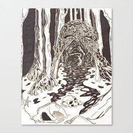 Swampthing Canvas Print