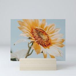 a sunflower Mini Art Print
