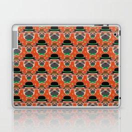 Hipster Pug Pattern Laptop & iPad Skin
