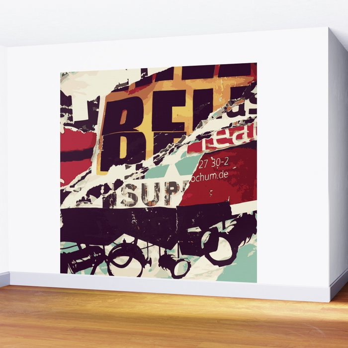 Be Sup Lights Wall Mural
