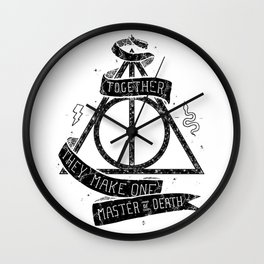 Harry Poter and the Deathly Hallows Wall Clock