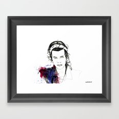 Harry Styles Framed Art Print