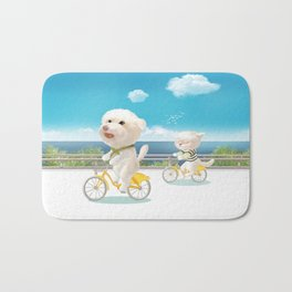 Biking Bath Mat