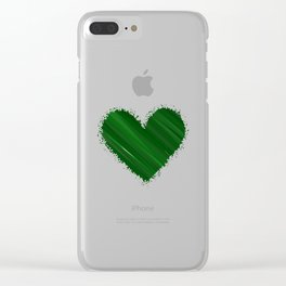 Earthy Love Clear iPhone Case