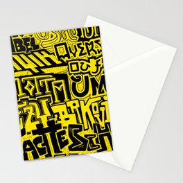 22 Staches Stationery Cards