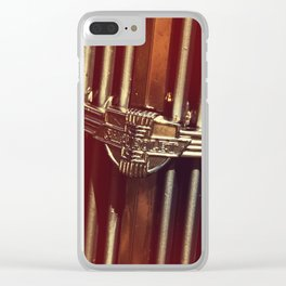 Classic Chevy Grille Clear iPhone Case