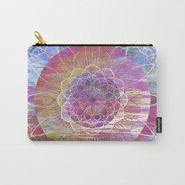 Glitch Mandala Carry-All Pouch
