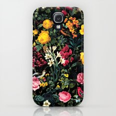 Floral and Birds Pattern Slim Case Galaxy S4