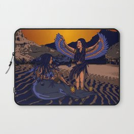 Medusa of Music meets Lilith Laptop Sleeve