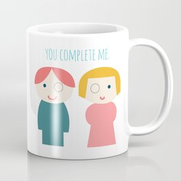 You Complete Me Coffee Mug