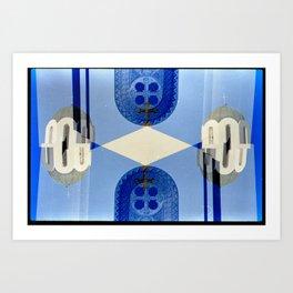 Landscapes c18 (35mm Double Exposure) Art Print