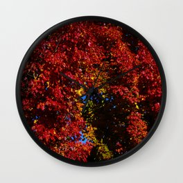 Fall Colors, PDX Wall Clock