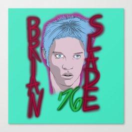 Brian Slade Canvas Print