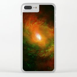 NGC 1068 Clear iPhone Case