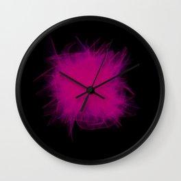VHS Glitch Wall Clock