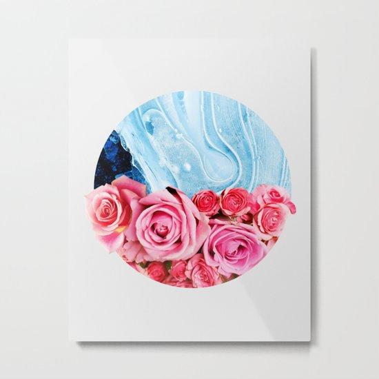 Unexpected Blossom #society6 #decor #buyart Metal Print