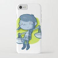 libra iPhone & iPod Cases featuring Libra by Chiara Zava