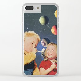 Bubles Clear iPhone Case