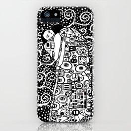 Gustav Klimt - The tree of life iPhone Case