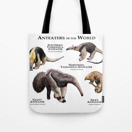 Anteaters of the World Tote Bag