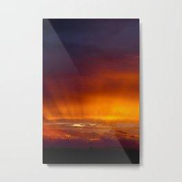 Holy Sunset Metal Print