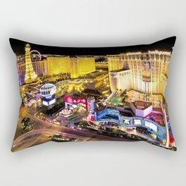 Las Vegas Nevada Skyline Rectangular Pillow