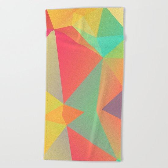 Geometric XIX Beach Towel