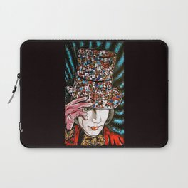 Johnny Depp as Willy Wonka Laptop Sleeve