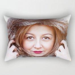 winter portrait 2 Rectangular Pillow