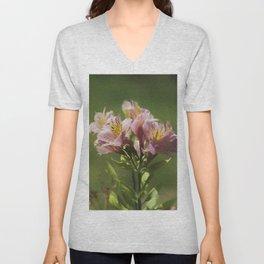 iris flower Unisex V-Neck