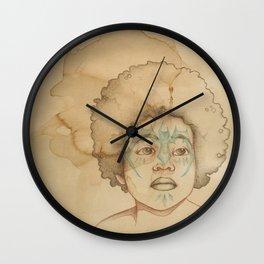 -Leith/wild boy- Wall Clock