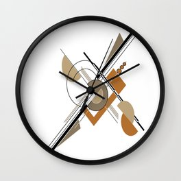 Modern Geometric 6 Wall Clock