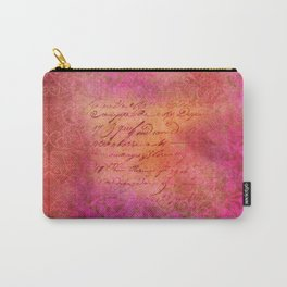 PINKORANGE Carry-All Pouch