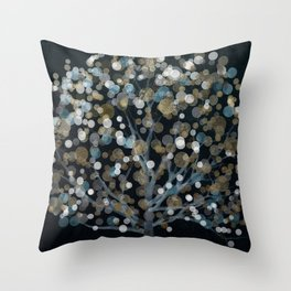 Bubble Tree II Throw Pillow