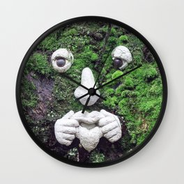 Ent in East Van Wall Clock