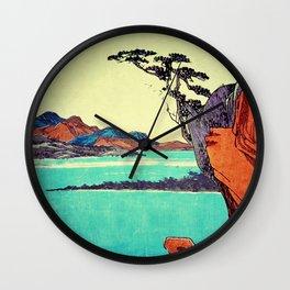 Waking from Winter Wall Clock