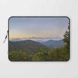 Sleepy valley town Laptop Sleeve