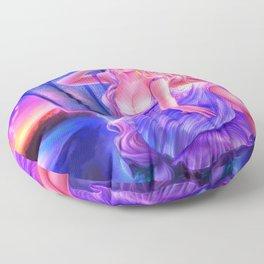 Sleepless Nights-Rapunzel Floor Pillow